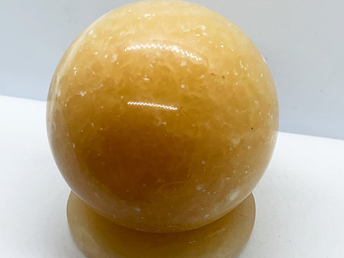Yellow Calcite Sphere
