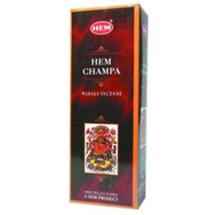Hem Champa Incense Hexagon - Box of 60 Sticks