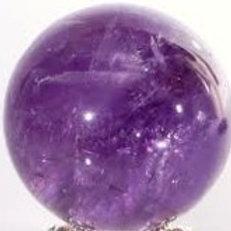 Amethyst Quartz  Sphere
