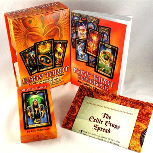 The Easy Tarot  78 Card Tarot Deck Set