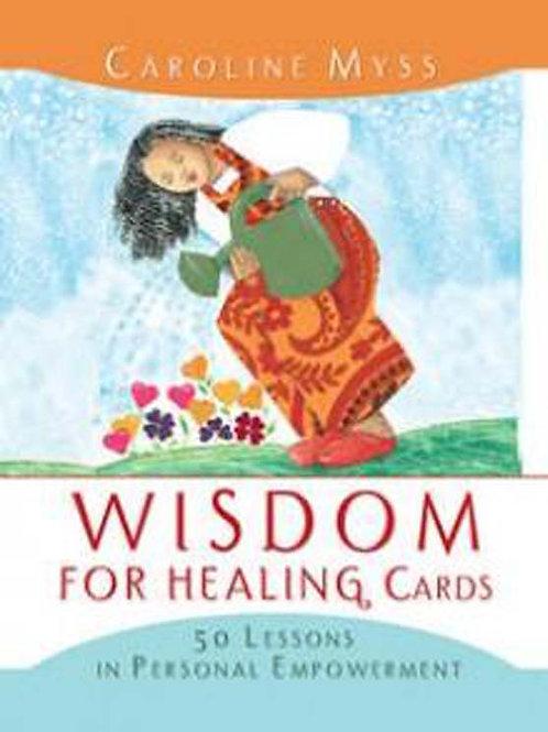 Wisdom For Healing Cards  - Caroline Myss   (ATO)