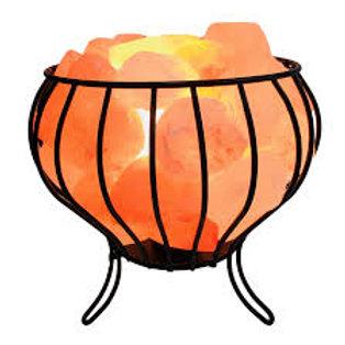 Himalayan Salt Lamps Basket