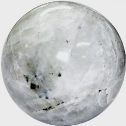 Rainbow Moonstone  Quartz  Sphere
