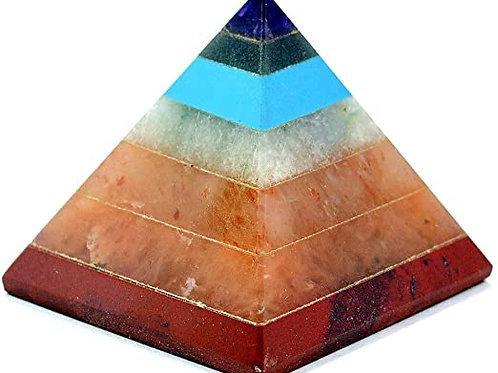Chakra Stone Pyramid