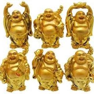 Buddha Set 6 - Gold or Red