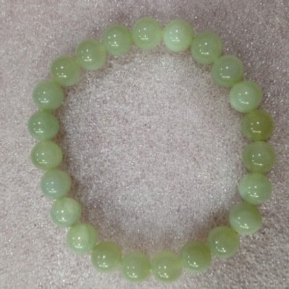 Chinese New Jade 8mm Bracelet
