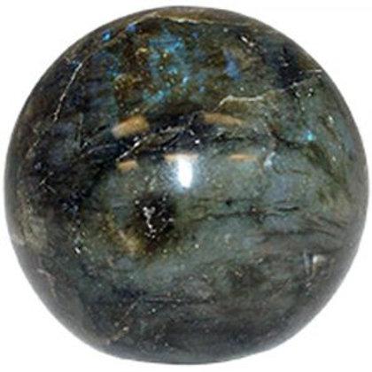 Labrdorite  Sphere