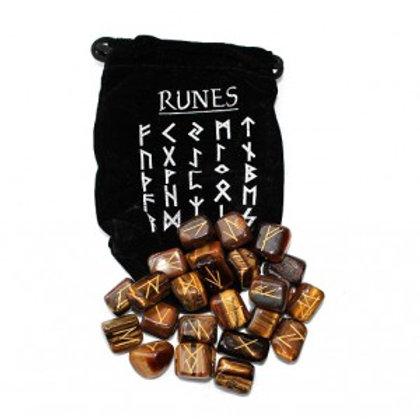 Tiger Eye - Runes