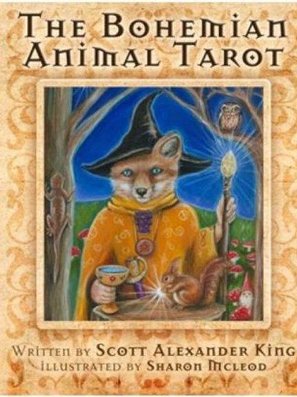 Bohemian Animal Tarot Deck & Guide Book  (ATO)