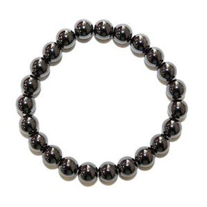 Hematite - 8mm Bracelet