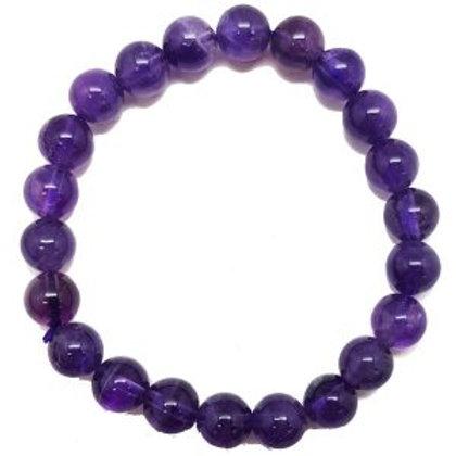 Amethyst - 8mm Bracelet