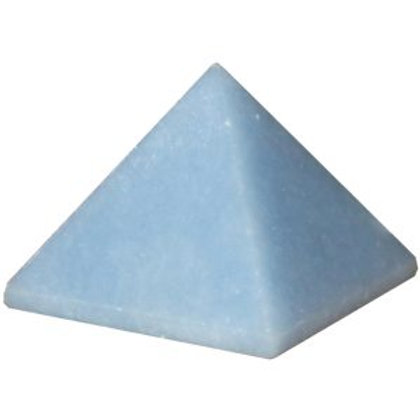 Blue Quartz Pyramid
