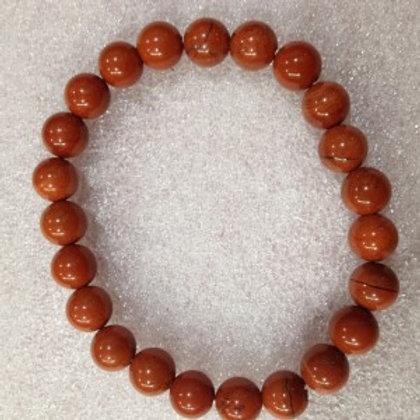 Red Jasper - 8mm Bracelet