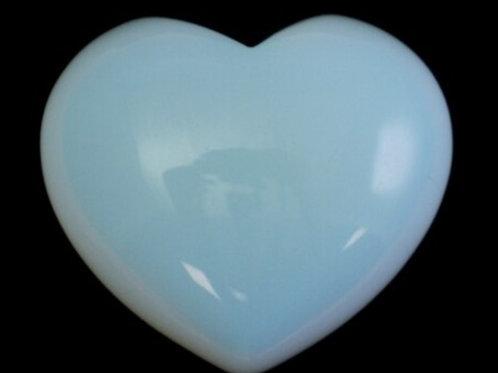 Opalite Puffy Heart