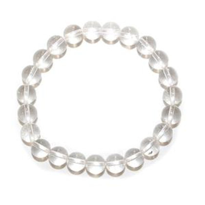 Clear Quartz - 8mm Bracelet
