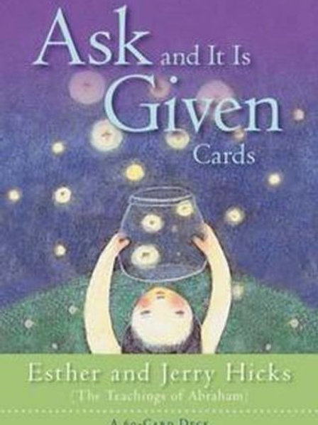 Ask And It Is  Given The Law of Attraction  Esther & Jerry Hicks (ATO)