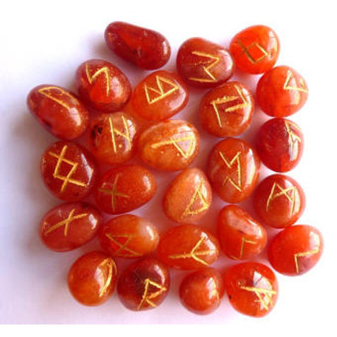 Carnelian  - Runes
