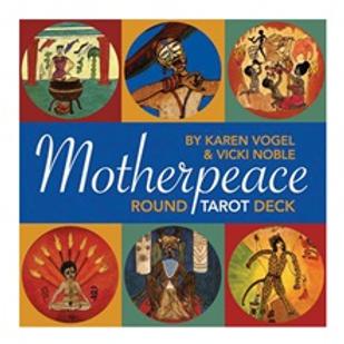 Motherpeace Round Tarot 78 Card Tarot Deck Set (ATO)