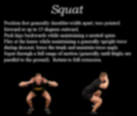 Precise Pattern 6, Squat, train for ACFT