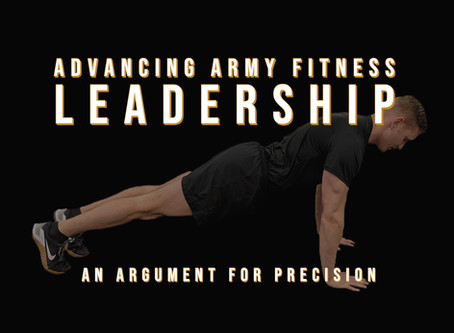 Advancing the Army's Fitness Leadership