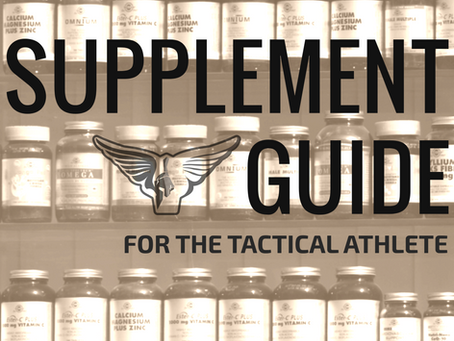 The Tactical Athlete's Ultimate Guide to Dietary Supplements