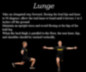 Precise Pattern 6, Lunge, train for ACFT