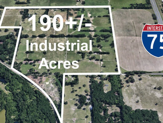 190+/- Industrial Acres For Sale in Ocala's Federal Qualified Opportunity Zone (QOZ)