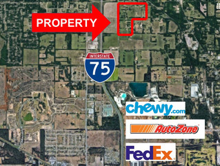 For SALE!  120 Acres Industrial Land