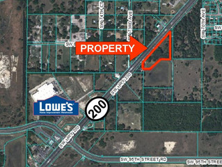 Just SOLD!  Hwy 200 Commercial Land $580,000
