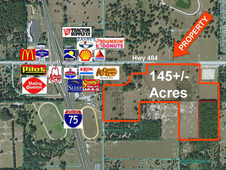 Just SOLD!  145 Acres $4,927,620