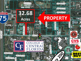 33 Acres-Perfect For An Affordable Housing Development Project