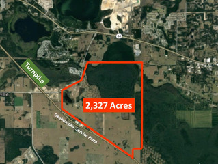 The Villages Purchases 2,327 Acres on Florida Turnpike for $25,000,000