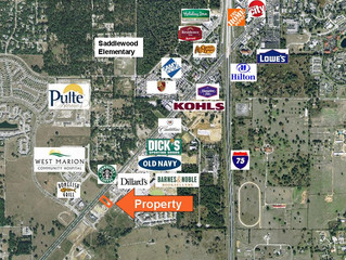 Just SOLD!  1.3 Commercial Acres $875,000