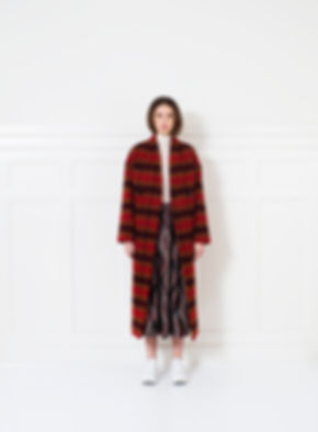 Paulina coat in Italian virgine wool