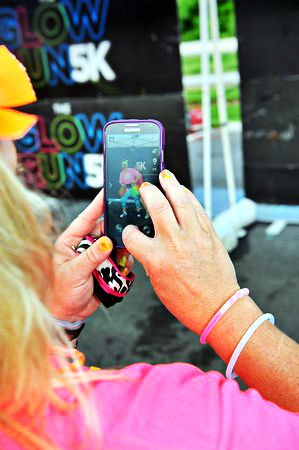 Get Social with The Glow Run 5k