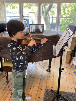 Violin Lesson Zoom