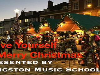 Student Christmas Video #2: Aura's Violin Students - Have Yourself a Merry Christmas🧑‍🎄