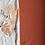 Thumbnail: effen tetra geborduurd - Brique