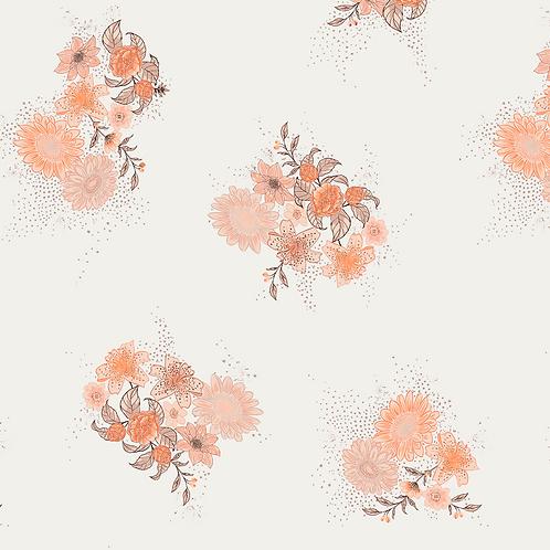 Peachy Paradise ecovero vicose