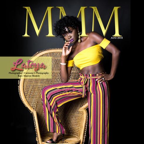 Latoya August 2018 MMM Magazine