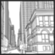 Towering Chicago coloring book image download