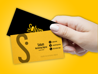 Cartão de Visita - Solum MKT
