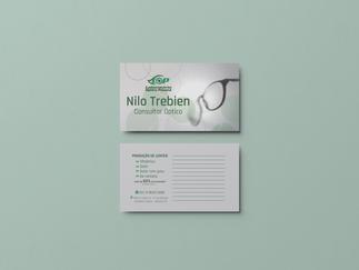 Cartão de Visita - Nilo Trebien.
