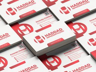 Cartão de Visita - Haddad Rep.