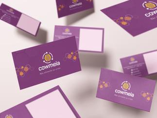 Cartão de Visita - Cowmeia Coworking