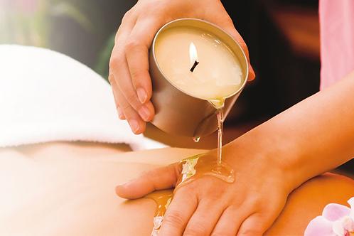 Massage à la Bougie 1h