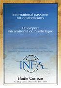 Esthétique Cosmétique Visage Corps Soins INFA diplôme internationnal