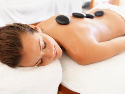 Massage aux Pierres Chaudes 1h30