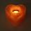 Thumbnail: Bougeoir en sel de l'Himalaya - Coeur