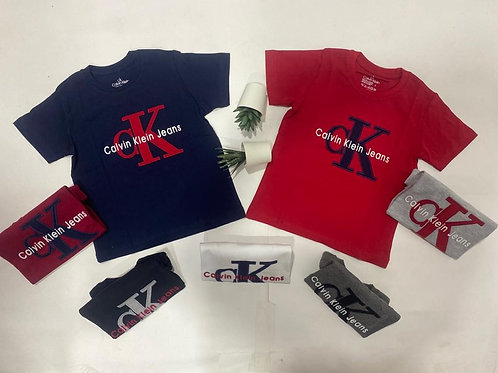 Calvin Klein cotton T-shirts for Boys 1 up to 8 years